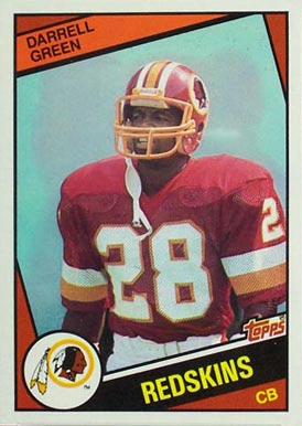 1984 Topps Darrell Green #380 Football Card