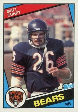 1984 Topps Matt Suhey #233 Football Card