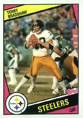 1984 Topps Terry Bradshaw #162 Football Card