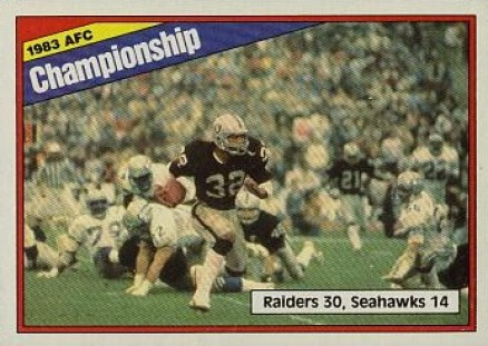1984 Topps   #7 Football Card