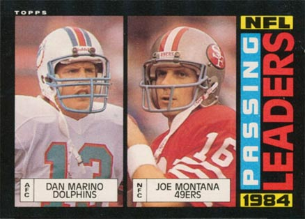 1985 Topps Joe Montana #192 Football Card