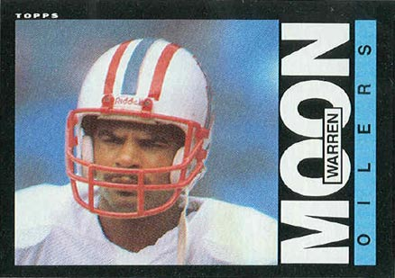1985 Topps Warren Moon #251 Football Card