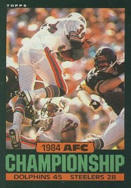 1985 Topps   #8 Football Card