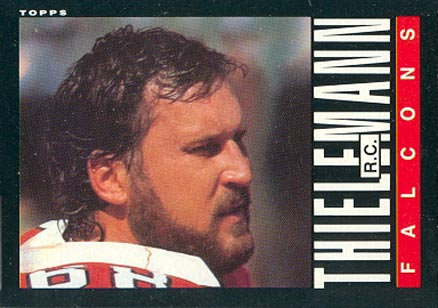 1985 Topps R.C. Thielemann #21 Football Card