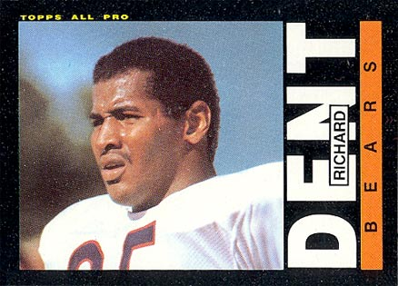 1985 Topps Richard Dent #24 Football Card