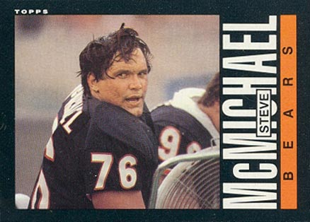 1985 Topps Steve McMichael #32 Football Card