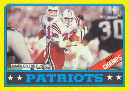 1986 Topps Patriots Team Leaders #29 Football Card