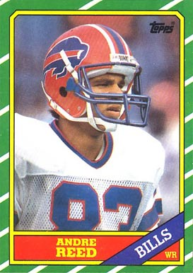1986 Topps Andre Reed #388 Football Card