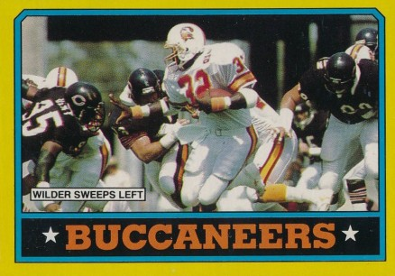 1986 Topps Buccaneers Team Leaders #372 Football Card