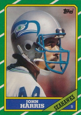 1986 Topps John Harris #212 Football Card