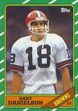 1986 Topps Gary Danielson #186 Football Card