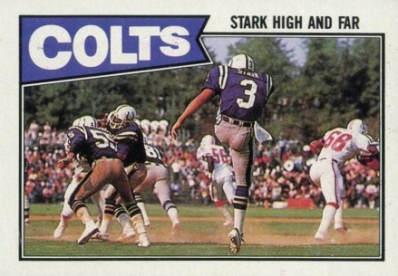1987 Topps Colts Team Leaders #372 Football Card