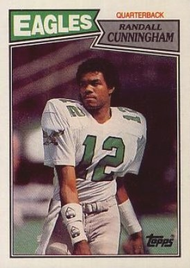 1987 Topps Randall Cunningham #296 Football Card
