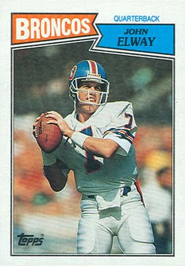 1987 Topps John Elway #31 Football Card