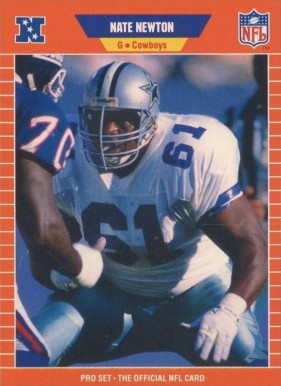 1989 Pro Set Nate Newton #93 Football Card