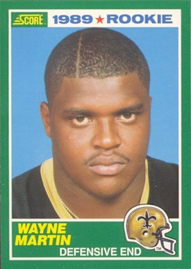 1989 Score Wayne Martin #248 Football Card