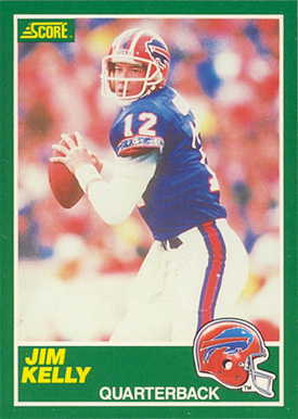 1989 Score Jim Kelly #223 Football Card