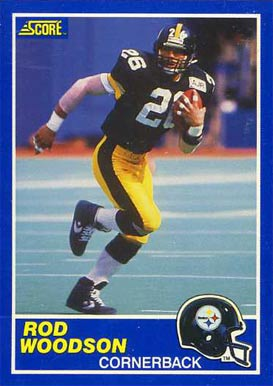 1989 Score Rod Woodson #78 Football Card
