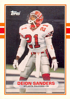 1989 Topps Traded Deion Sanders #30T Football Card
