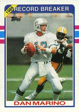 1989 Topps Dan Marino #5 Football Card