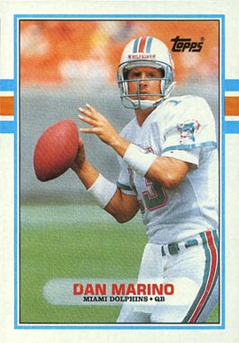 1989 Topps Dan Marino #293 Football Card