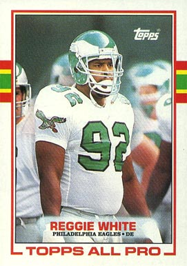 Reggie White Hall Of Fame Football Cards