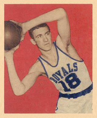 1948 Bowman Arnie Risen #58 Basketball Card