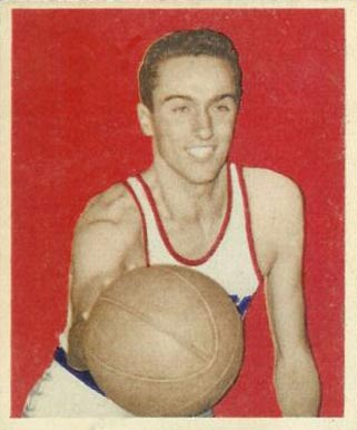 1948 Bowman Carl Braun #72 Basketball Card