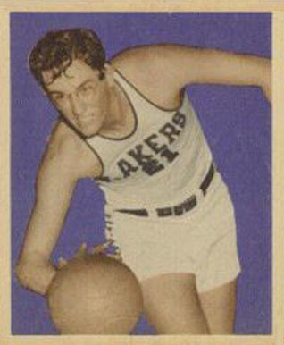 1948 Bowman George Mikan #69 Basketball Card