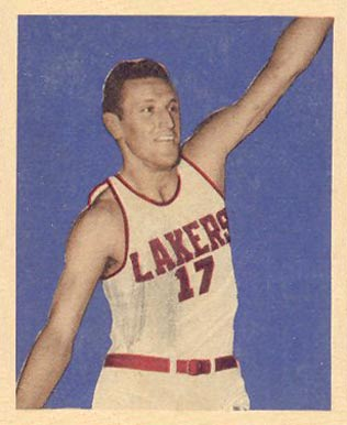 1948 Bowman Jim Pollard #66 Basketball Card