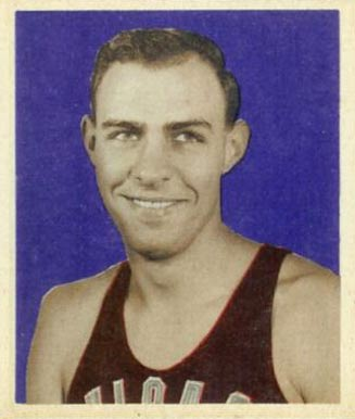 1948 Bowman Stan Miasek #40 Basketball Card