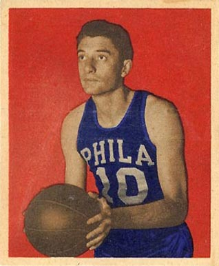 1948 Bowman Joe Fulks #34 Basketball Card