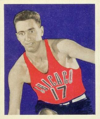 1948 Bowman Chuck Gilmur #31 Basketball Card