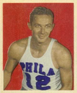 1948 Bowman Howard Dallmar #14 Basketball Card