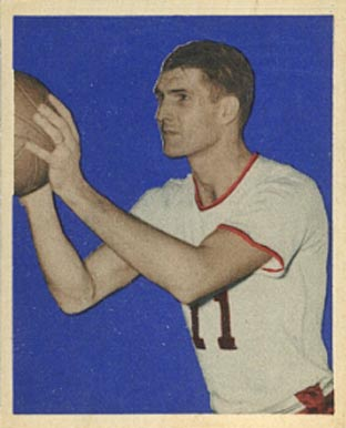 1948 Bowman Ariel Maughan #60 Basketball Card