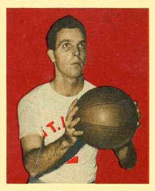 1948 Bowman John  Logan #7 Basketball Card