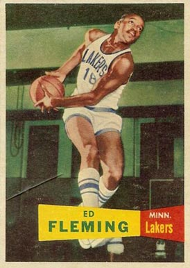 1957 Topps Ed Fleming #79 Basketball Card
