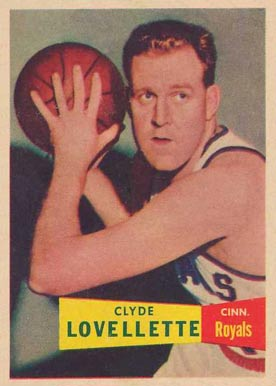 1957 Topps Clyde Lovellette #78 Basketball Card