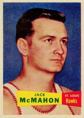 1957 Topps Jack McMahon #66 Basketball Card