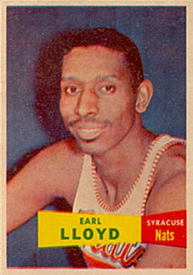 1957 Topps Earl Lloyd #54 Basketball Card