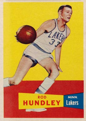 1957 Topps Rod Hundley #43 Basketball Card