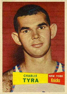 1957 Topps Charlie Tyra #68 Basketball Card