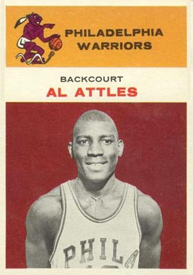 1961 Fleer Al Attles #1 Basketball Card