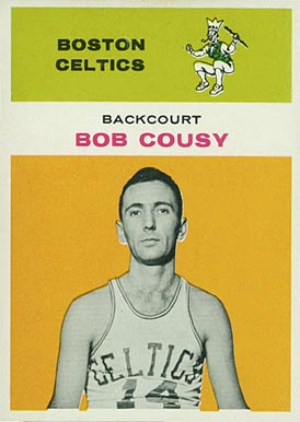 1961 Fleer Bob Cousy #10 Basketball Card