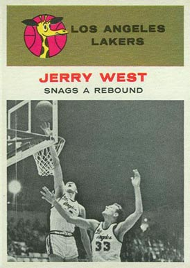 1961 Fleer Jerry West #66 Basketball Card