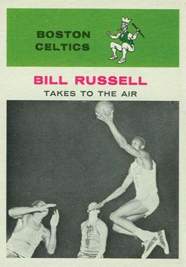 1961 Fleer Bill Russell #62 Basketball Card