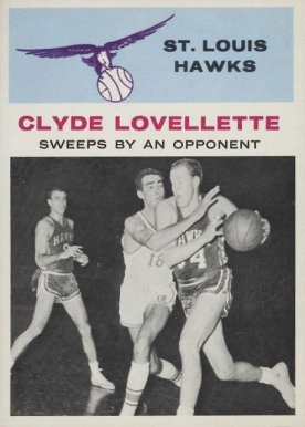 1961 Fleer Clyde Lovellette #58 Basketball Card