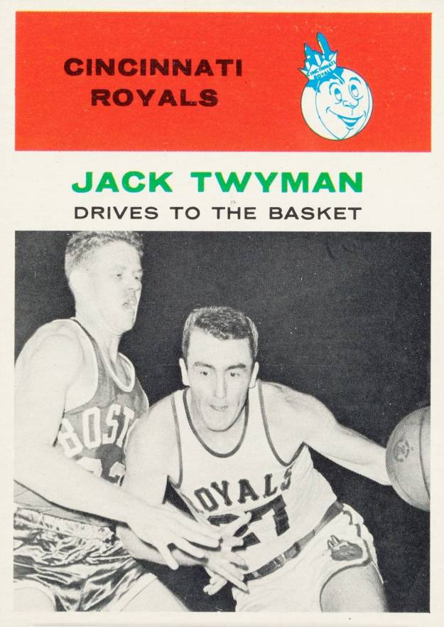 1961 Fleer Jack Twyman #65 Basketball Card