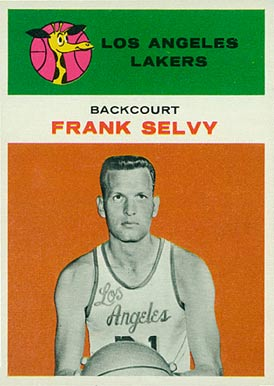 1961 Fleer Frank Selvy #40 Basketball Card