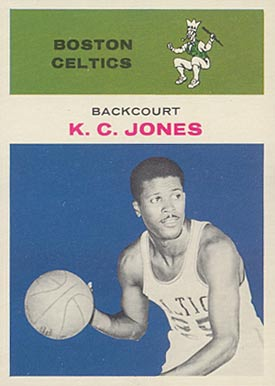 1961 Fleer K.C. Jones #22 Basketball Card